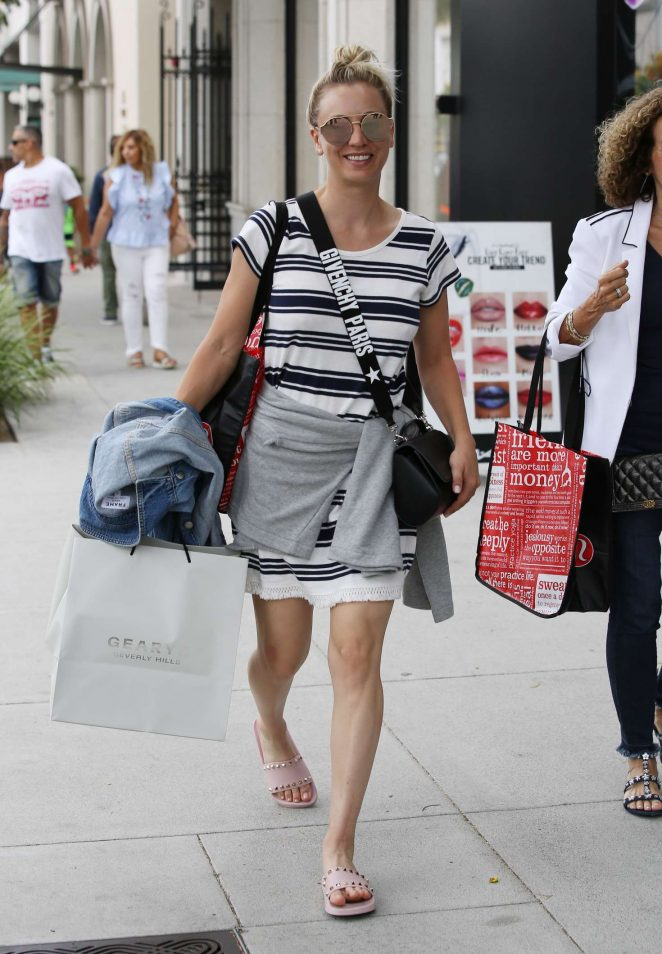 Kaley Cuoco out for shopping in Beverly Hills