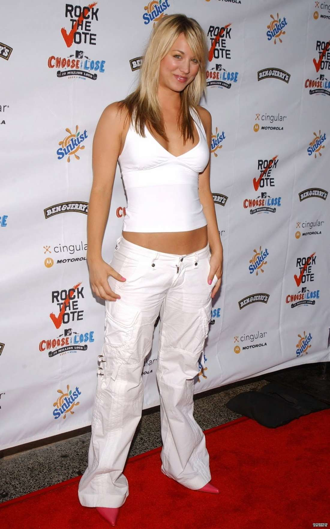 Kaley Cuoco 2016 : Kaley Cuoco: Rock The Vote National Bus Tour Concert 2004 -03