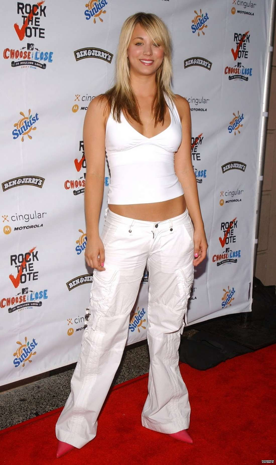 Kaley Cuoco 2016 : Kaley Cuoco: Rock The Vote National Bus Tour Concert 2004 -04