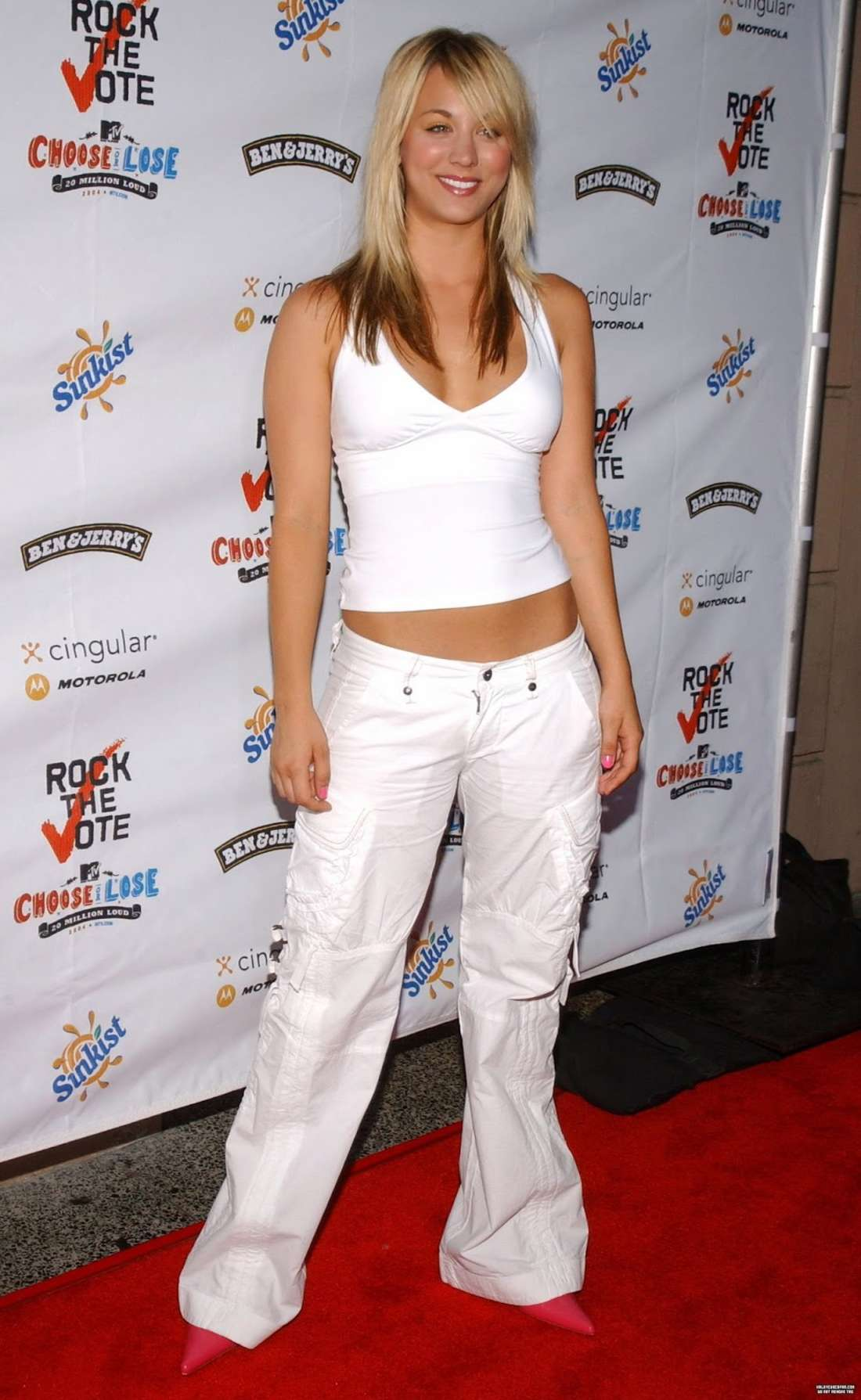 Kaley Cuoco 2016 : Kaley Cuoco: Rock The Vote National Bus Tour Concert 2004 -06