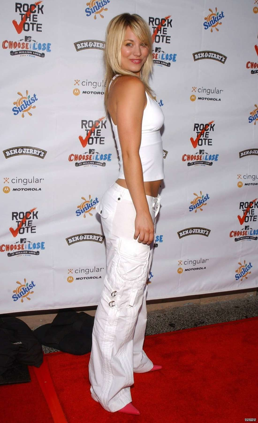Kaley Cuoco 2016 : Kaley Cuoco: Rock The Vote National Bus Tour Concert 2004 -07