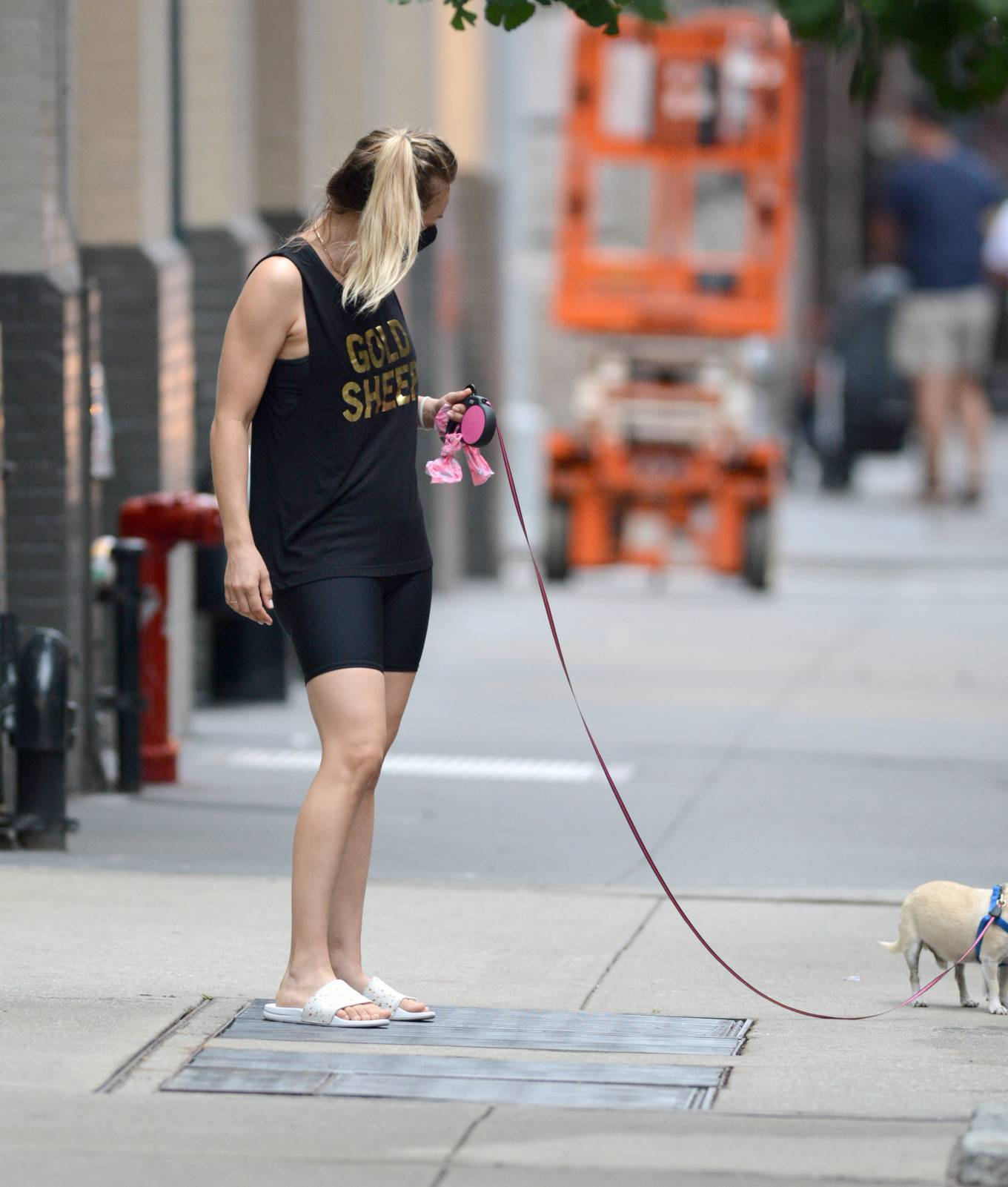 Kaley Cuoco 2020 : Kaley Cuoco – Seen Out in New York-03