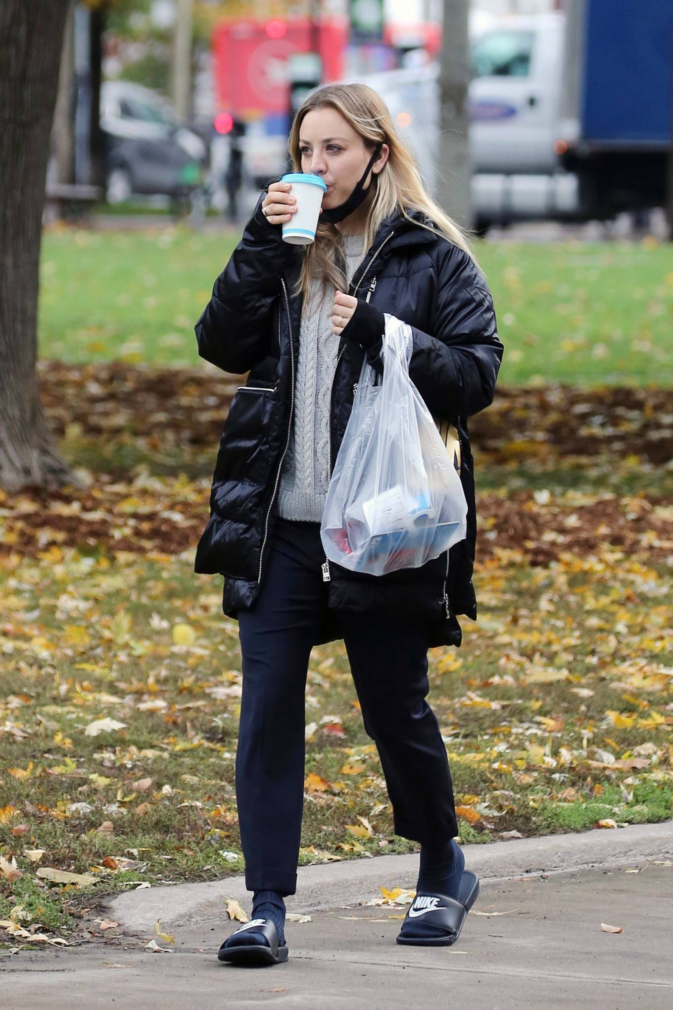 Kaley Cuoco - Seen out in Toronto