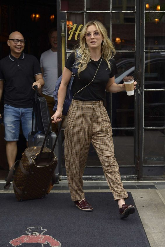 Kaley Cuoco 2019 : Kaley Cuoco – Seen outside The Bowery Hotel in NYC -09
