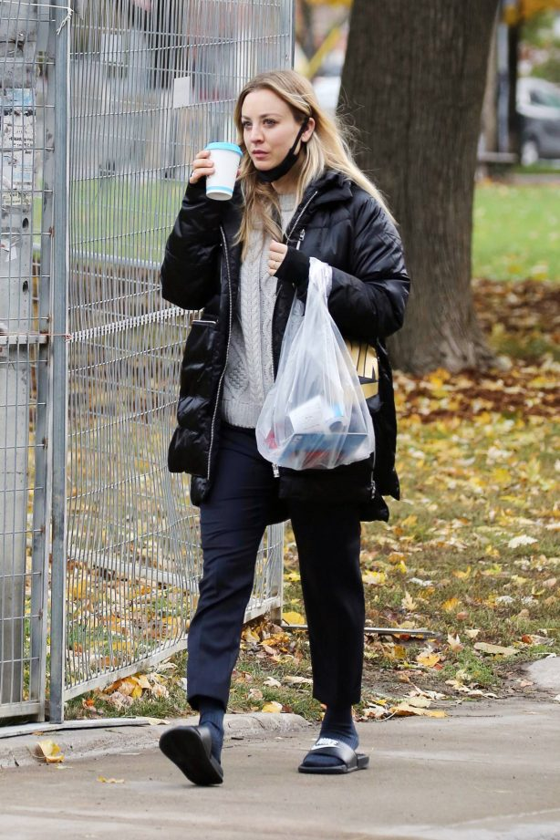 Kaley Cuoco - Spotted while out in Toronto