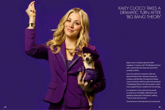 Kaley Cuoco - Techlife News Magazine (July 2019)