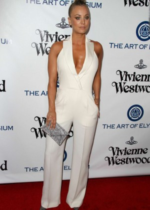 Kaley Cuoco: The Art of Elysium 2016 HEAVEN Gala -01