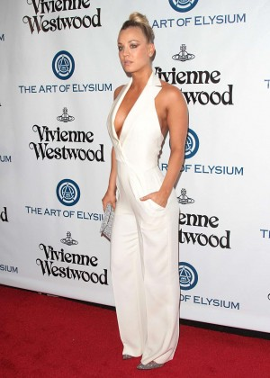Kaley Cuoco: The Art of Elysium 2016 HEAVEN Gala -02