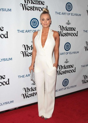 Kaley Cuoco: The Art of Elysium 2016 HEAVEN Gala -09