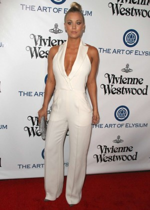 Kaley Cuoco: The Art of Elysium 2016 HEAVEN Gala -14