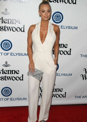 Kaley Cuoco: The Art of Elysium 2016 HEAVEN Gala -16