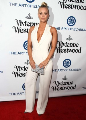 Kaley Cuoco: The Art of Elysium 2016 HEAVEN Gala -17
