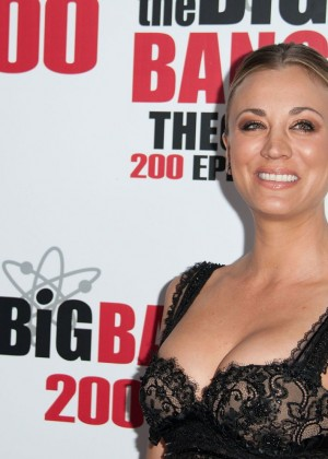 Kaley Cuoco: The Big Bang Theory 200th Episode Celebration -02