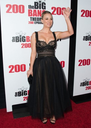 Kaley Cuoco: The Big Bang Theory 200th Episode Celebration -04