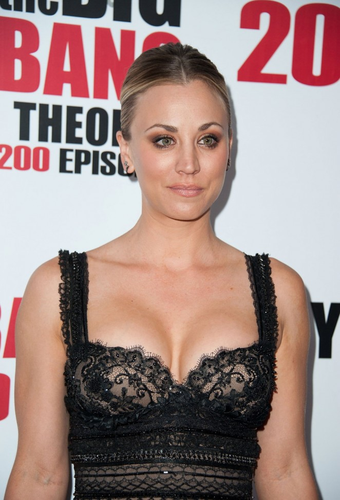 Kaley Cuoco - 'The Big Bang Theory' 200th Episode Celebration in LA