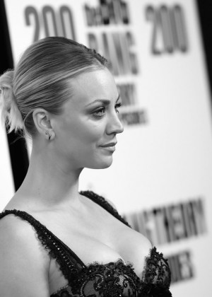 Kaley Cuoco: The Big Bang Theory 200th Episode Celebration -11