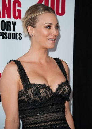 Kaley Cuoco: The Big Bang Theory 200th Episode Celebration -16