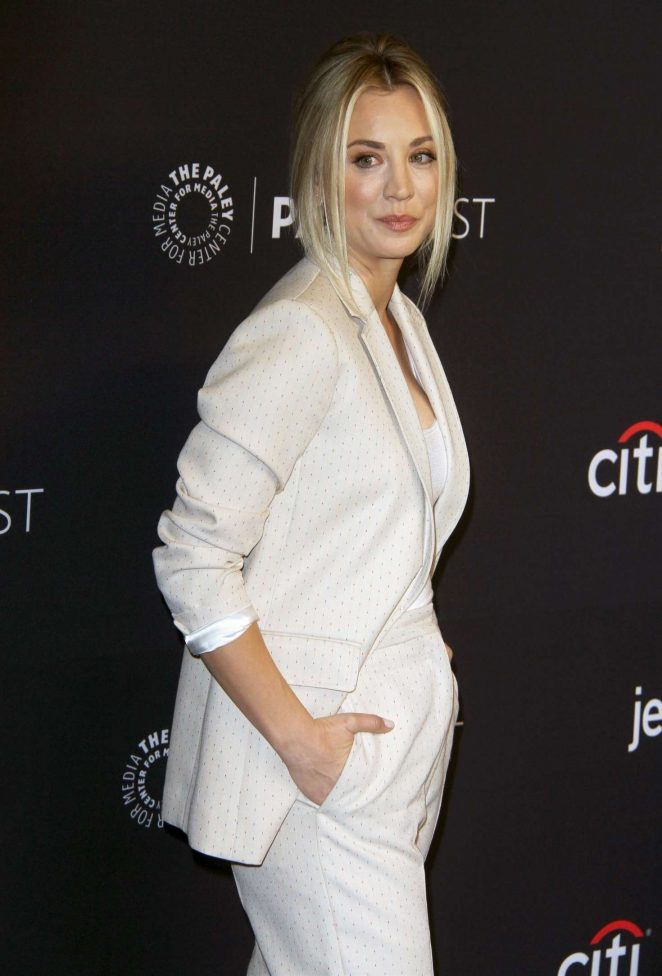 Kaley Cuoco - 'The Big Bang Theory' and 'Young Sheldon' Presentation at Paleyfest in Los Angeles