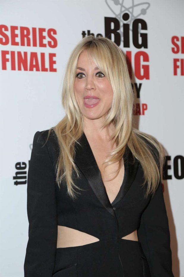 Kaley Cuoco - 'The Big Bang Theory' Series Finale Party in Pasadena
