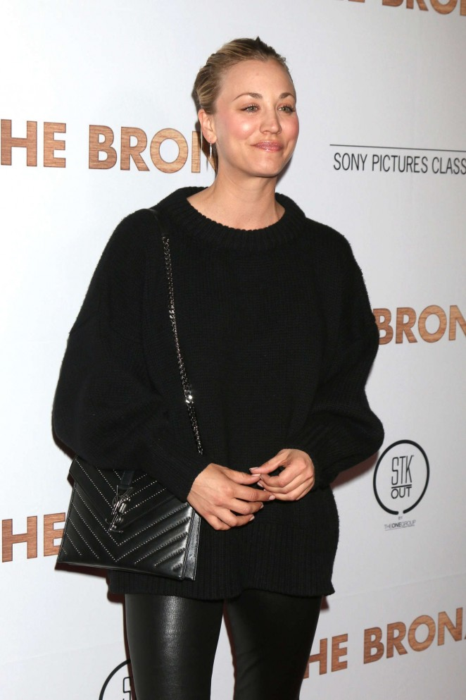 Kaley Cuoco - 'The Bronze' Premiere in Los Angeles