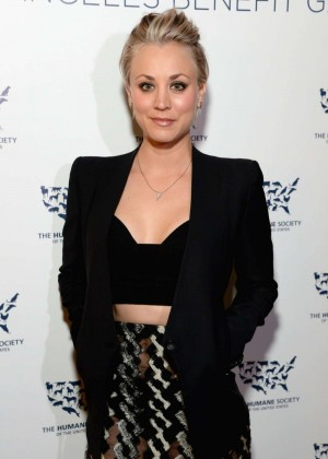 Kaley Cuoco - The Humane Society Los Angeles Benefit Gala in Beverly Hills