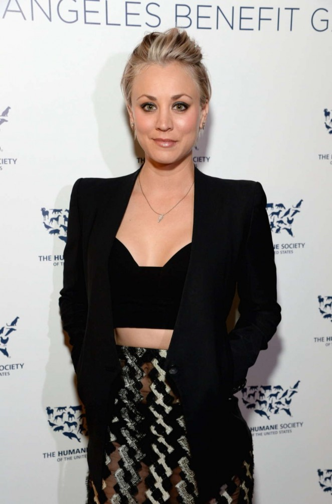 Kaley Cuoco – The Humane Society Los Angeles Benefit Gala in Beverly Hills