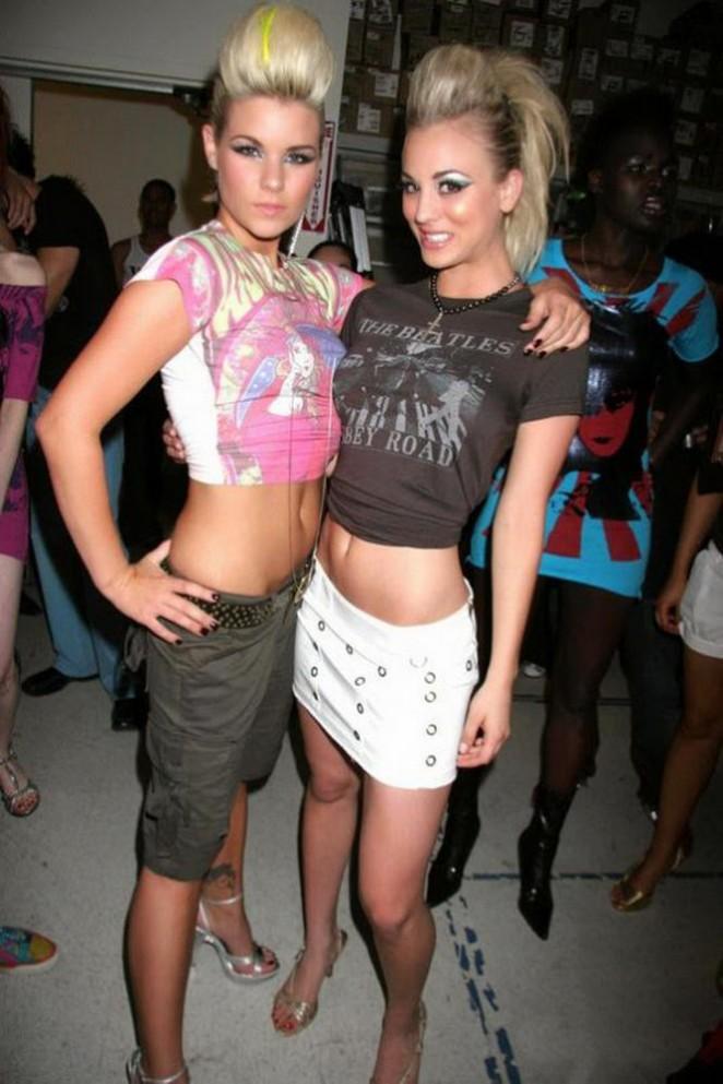 Kaley Cuoco The Virgin Megastore Rocknroll Fashion Show