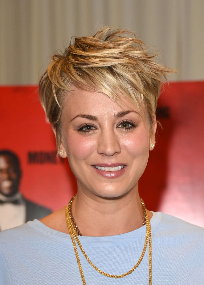 Kaley Cuoco - 'The Wedding Ringer' Photocall in LA