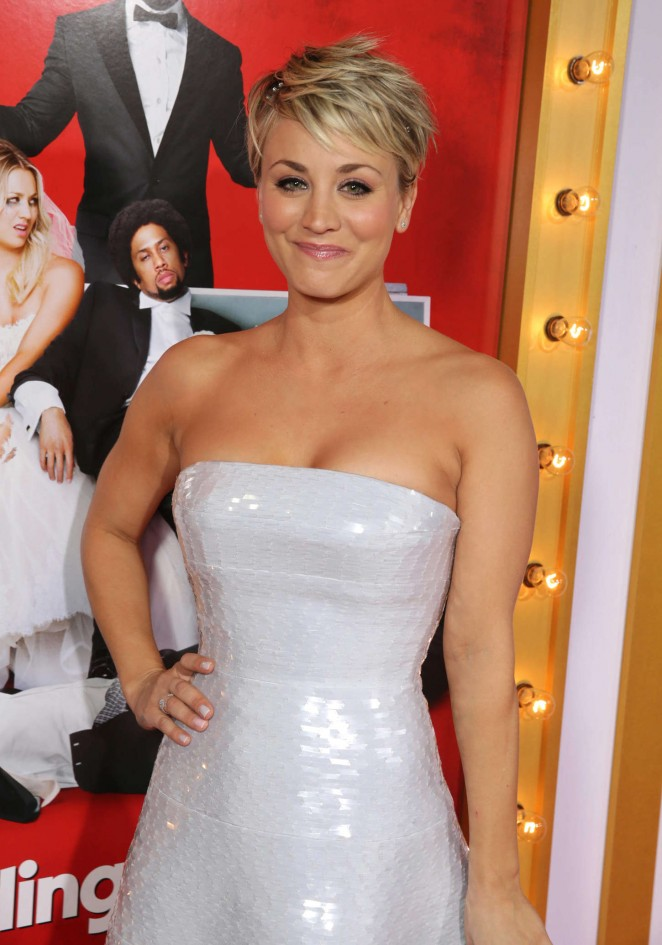 "Kaley Cuoco - ""The Wedding Ringer"" Premiere in Hollywood"