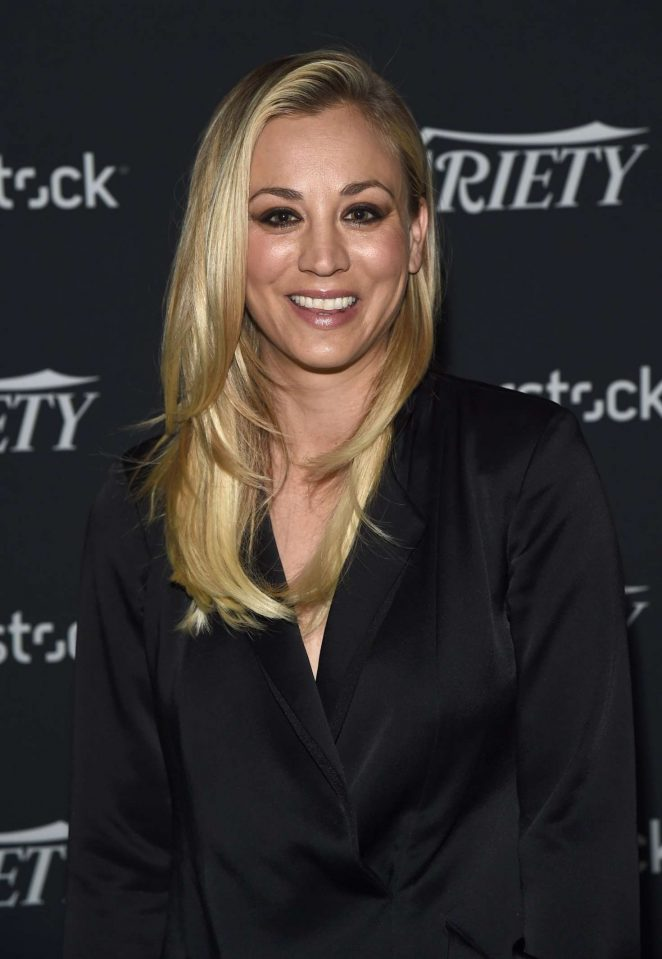 Kaley Cuoco - Variety Studio: Actors on Actors in Los Angeles