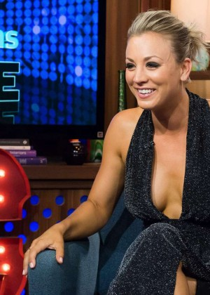 Kaley Cuoco - Watch What Happens Live in NY