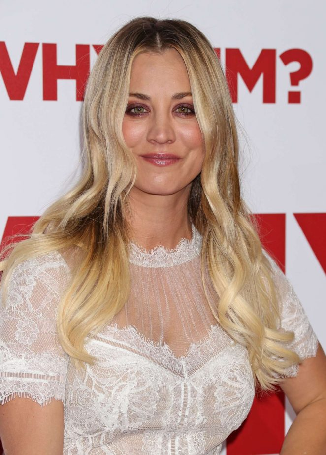 Kaley Cuoco - 'Why Him' Premiere in Los Angeles