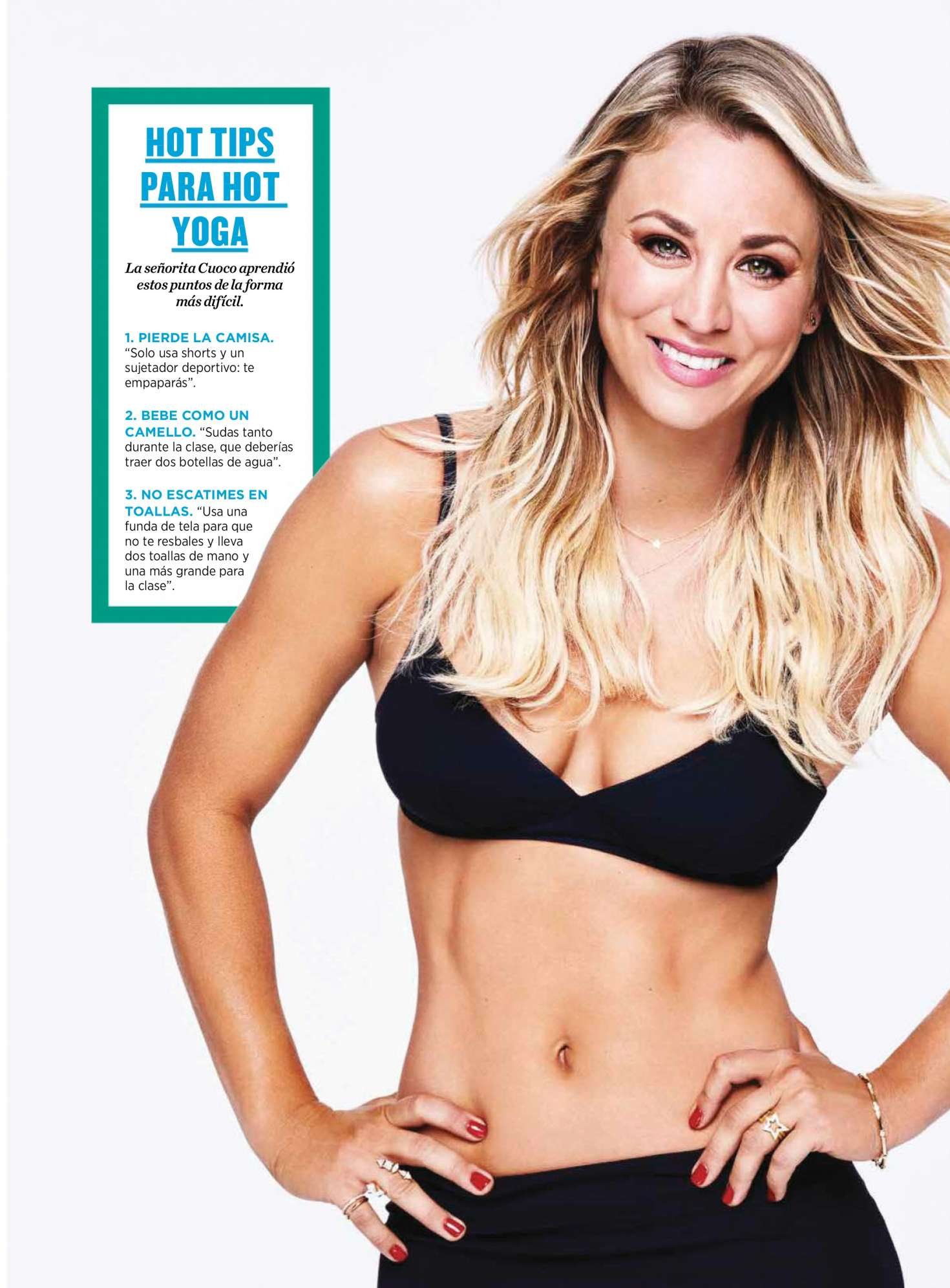 Kaley Cuoco - Women's Health Chile (February 2018)