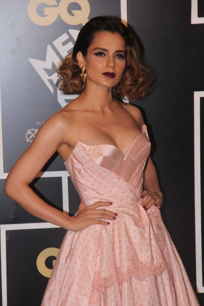 Kangana Ranaut - GQ India's Men of the Year Awards 2016 in Mumbai