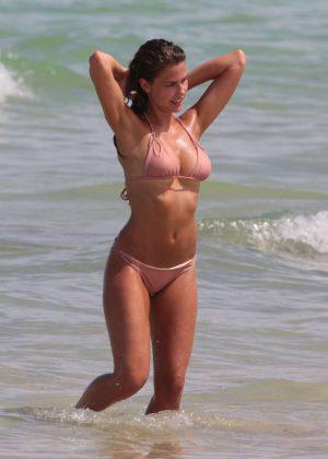 Kara Del Toro - Bikini photoshoot at Miami Beach