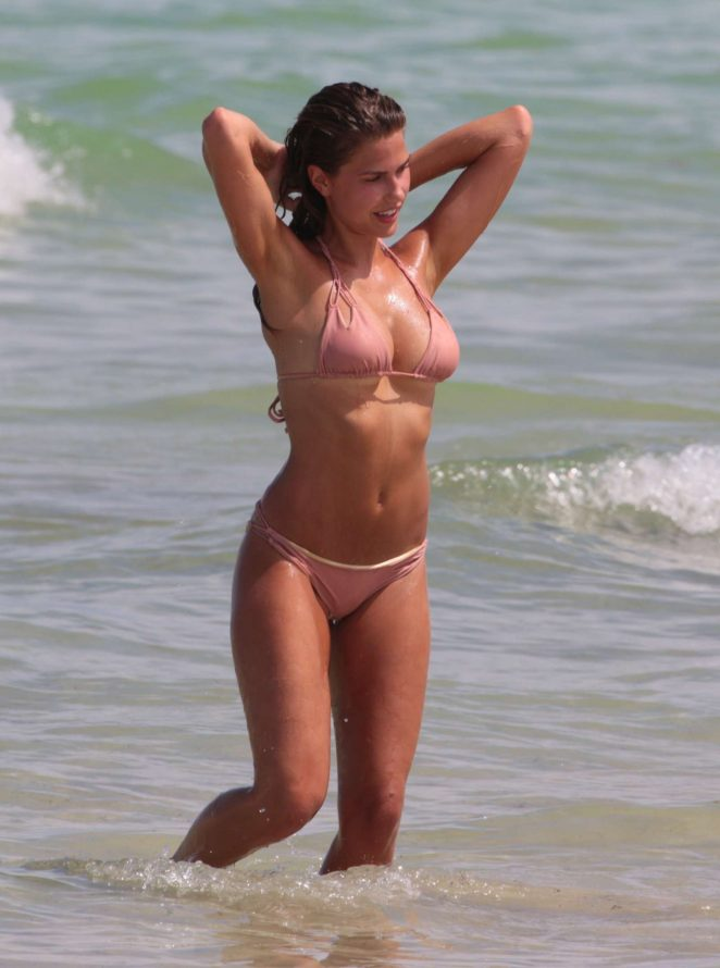 Kara Del Toro - Bikini photoshoot at Miami Beach