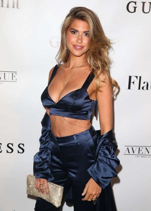Kara Del Toro - Flaunt And Guess Celebrate The Alternative Facts Issue Event in LA