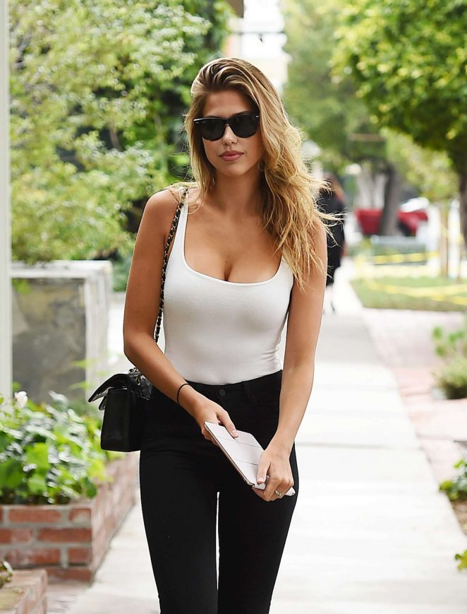 Kara Del Toro in Black Jeans out in Los Angeles