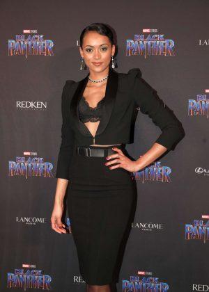 Kara McCullough - 'Black Panther' Welcome to Wakanda NYFW Showcase in New York