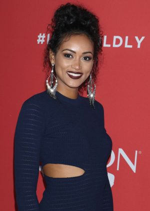 Kara McCullough - Revlon's 'Live Boldly' Campaign Launch in New York