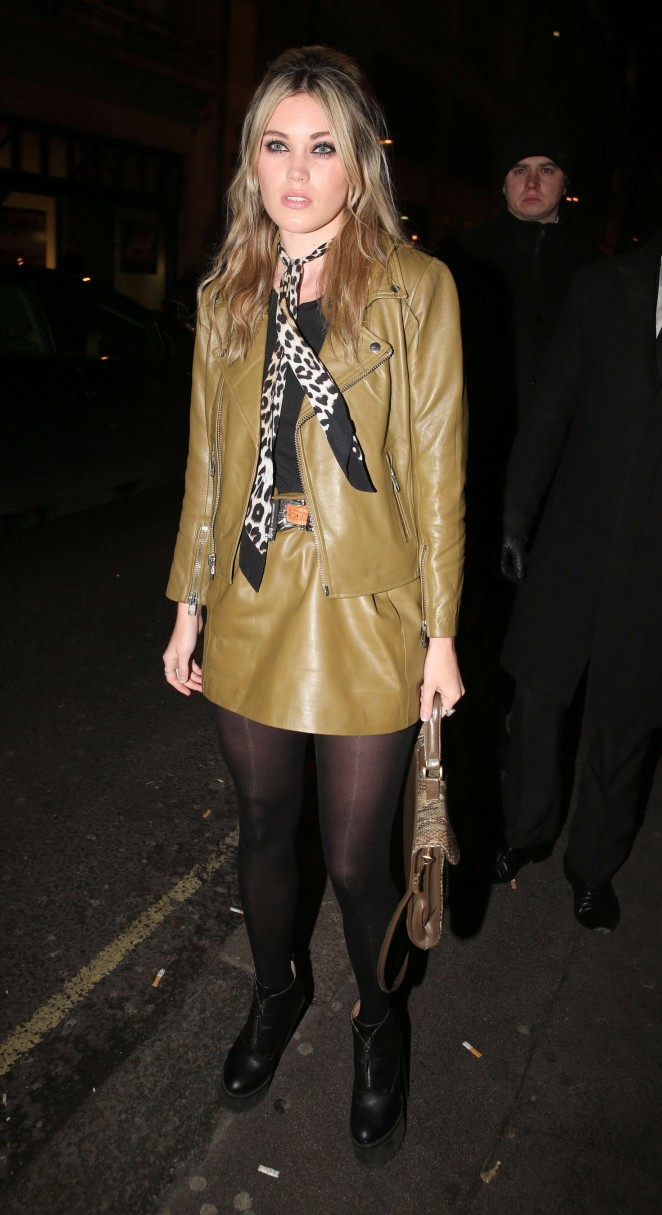 Kara Rose Marshall at the launch of 100 Wardour Street in London