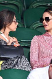 Kara Tointon and Louisa Lytton - Wimbledon Tennis Championships 2019 in London