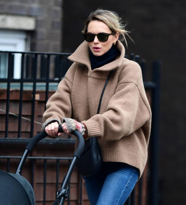 Kara Tointon - Seen out in North London