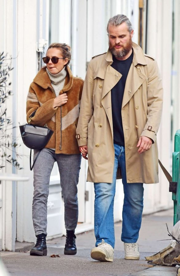 Kara Tointon with husband out in Notting Hill