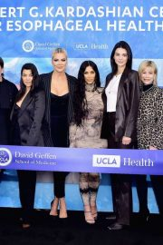 Kardashian and Jenner - UCLA Robert G. Kardashian Center For Esophageal Health Dedication Event