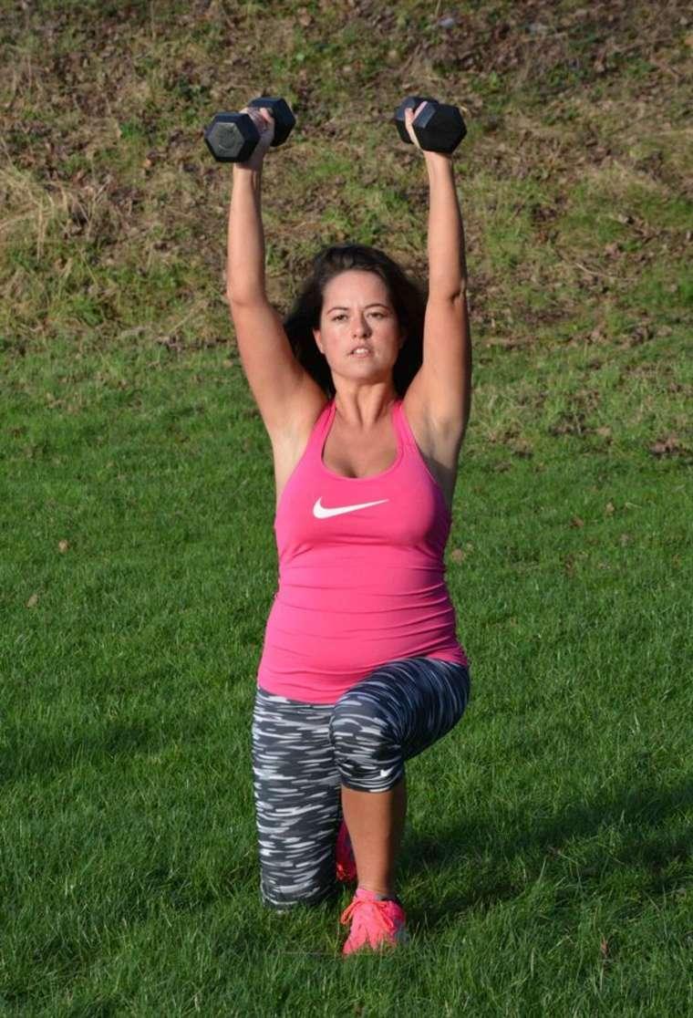 Karen #Danczuk in #Tights #Workout in #Park | Stunning Actress