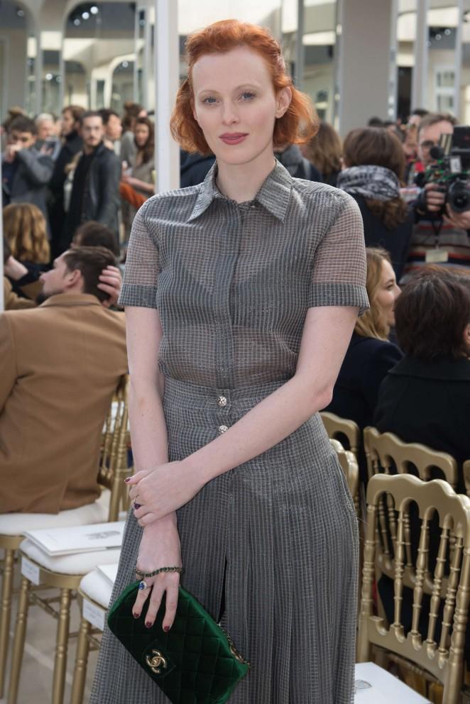 Karen Elson – Chanel Fashion Show 2016 in Paris