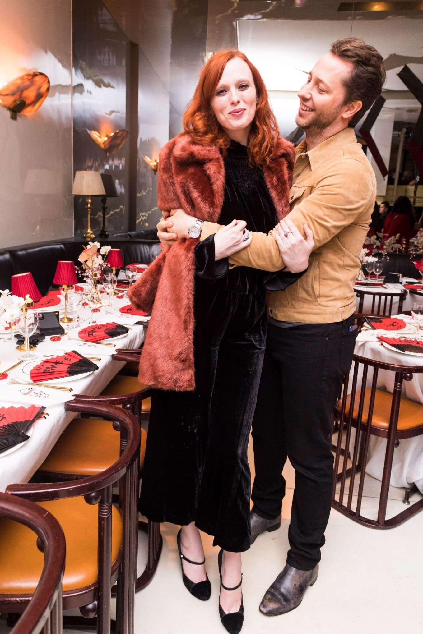 Karen Elson - Frame Fifth Anniversary Dinner in New York