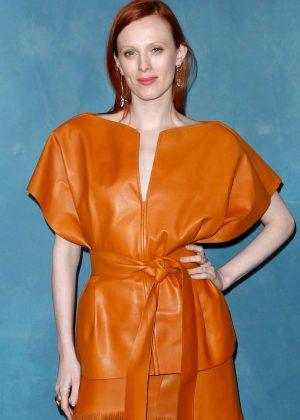 Karen Elson - Givenchy Fashion Show in Paris