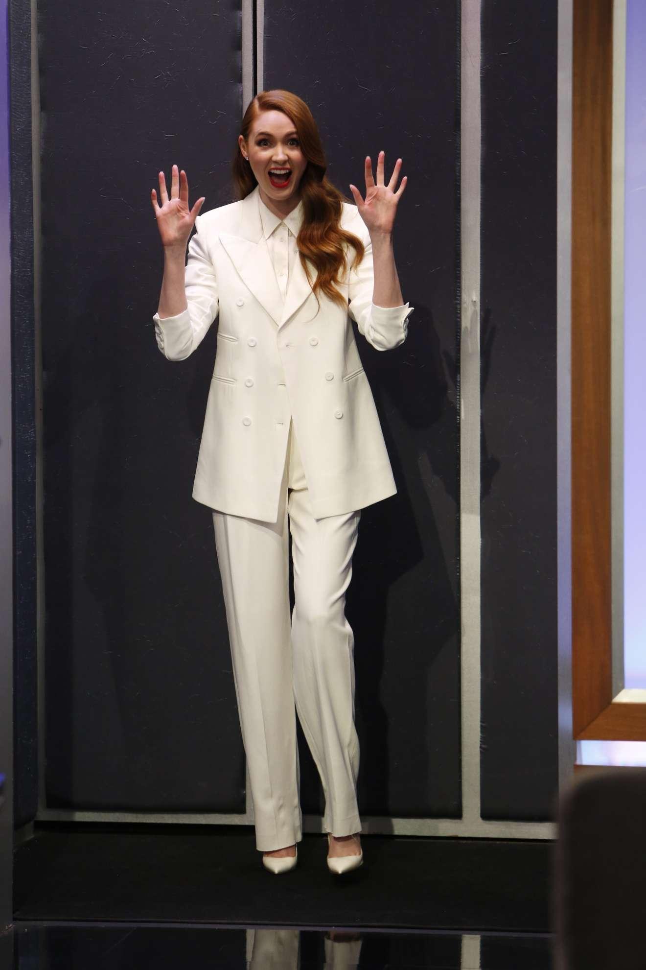 Karen Gillan – Appearance on Jimmy Kimmel Live in Hollywood